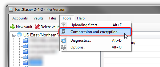 Tools, Compression and Encryption