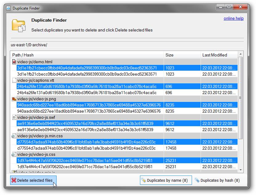 Duplicate Finder Windows 7 Freeware - copypriority