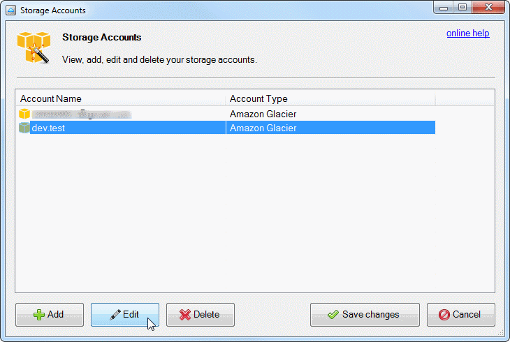 Storage Accounts